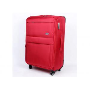 China Red Code lock travel EVA trolley case with elegant imprint front logo and zipper pullers on sale