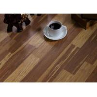 China Gym Anti Slip Glue Down Vinyl Wood Flooring Floorscore Certification With Excellent Durability on sale