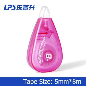 China 8M Red Decorative Correction Tape T-90214 For Office School People on sale