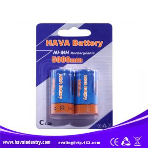 China NiMH Rechargeable Battery C5000mAh 1.2V supplier