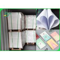 FSC 60gsm - 100gsm Woodfree Paper Good Whiteness Color Reproduction For Brochure