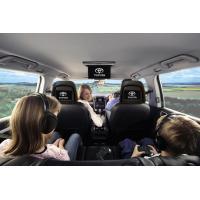 PAL,NTSC Two Way AV Multimedia 7 Inch HD LED Toyota Headrest DVD Player With Innolux Digital Panel