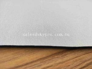 China White And Black Thick Neoprene Fabric 2mm Foam Rolls Neoprene Coated Nylon Fabric on sale