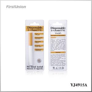 China Single Disposable Electronic Cigarettes Without Nicotine YJ4915A on sale