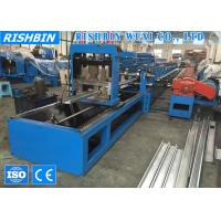 40 m/min 7 Rollers High Speed Cee Purlin Roll Forming Machinery with 17 Roller Stations