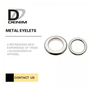 China High Durability Metal Eyelet Rings Crack-Proof For Clothings Decoration on sale