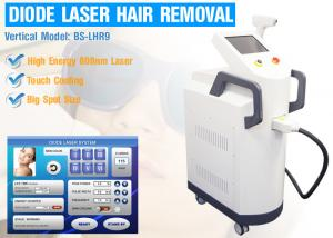 China 810nm Diode Laser Machine IPL Laser Hair Removal Machine With Touch Cooling AC220V - 240V on sale