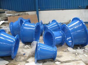 China Ductile Iron Double flange reducer on sale