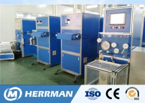 China Coloring Rewinding Fiber Optic Cable Production Line With Auto - Centralizing 3000m / Min on sale