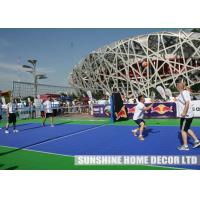 Repair PP floor Anti-slip/Anti-agging/Anti-UV interlocking outdoor/indoor tennis court manufacturer