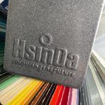 Oil Repellency Bonded Flash Metallic Powder Coat Epoxy Powder Coatings Paint