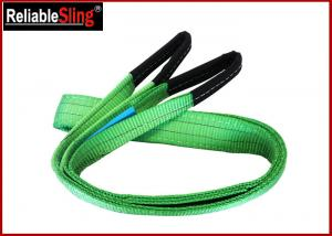 Quality 2ton Approved Color Code Lifting Sling Flat Webbing Lifting Slings Safety for sale