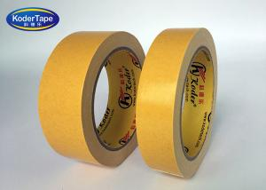 China Cotton Cloth Based Double Sided adhesive Tape For Exhibition Carpet Seaming on sale