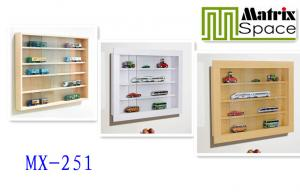 ... Quality Glass Door Home Wall Mounted Display Cabinet / Rack For Crafts  , Color Customised For