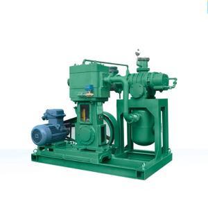China JZJX series roots rotary vane vacuum pump unit on sale