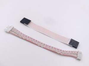 China Professional Cable Wire Harness 26 AWG Flat Cable RoHS Certification on sale