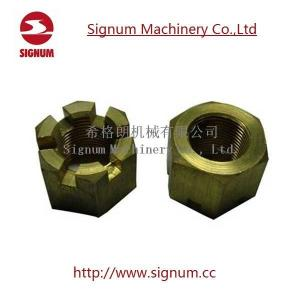 China Stainless Steel Six Angle Nut on sale