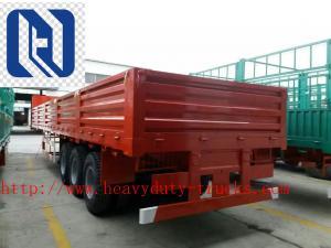 China 3 AXLE LORRY TRAILER  Semi Trailer Trucks 28T Single speed on sale
