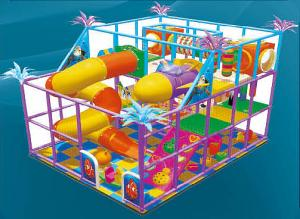 China Indoor Child Playground Equipments with Engineering Plastics TN-10111D on sale