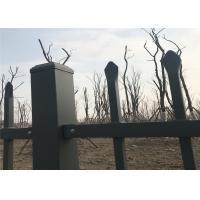 China Steel Fence Mesh Price/Corrugated Steel Fence Sheet/Tubular Steel Fence on sale