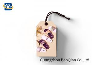 China 3D Image Custom Shoe Hang Tags , Shoes Lenticular Labels PET / PP / Paper Material on sale