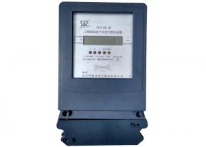 China 3 Phase Prepaid Electricity Meters Contactless RF Card For Energy Measurement on sale