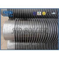 Industrial Boiler Economizer Heat Exchanger Tubes , Spiral Fin Tube For Heat Transfe
