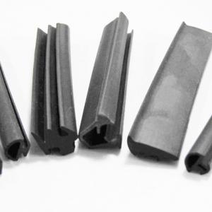 OEM ODM Custom epdm/silicone extruded h shape epdm rubber seal strip