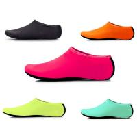 Womens Mens Classic Barefoot Water Shoes Flat Heel With Spandex Fabric Material