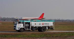 China Powerful 4x4 6 Wheelers Airport Fuel Truck , Mobile Aviation Fuel Trailer 10000L on sale
