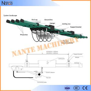 China Mobile  Systems Conductor Rail System Electrical Power Bar ISO9001 on sale