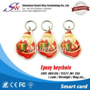 China EM4100 Em4305 printe 125khz rfid card for access card 125khz rfid keychain T5577 on sale