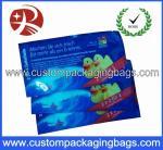 Creative Custom Packaging Bags , Plastic Printing Colour Wet Wipe Bag