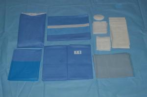 China SMMS Disposable Medical Eye EO Sterile Surgical Drapes Breathable on sale