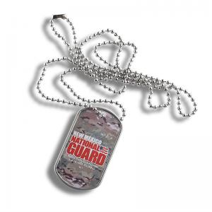 China Durable Personalized Dog Tag Necklaces , Elegant Mens Dog Chain Necklace on sale