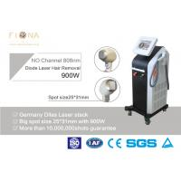 China 810nm Alexandrite Laser Hair Removal Equipment , Salon Laser Hair Removal Machine 600W on sale