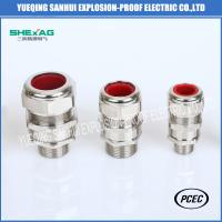 SHBDM-22 Double or Single Compression Flameproof Explosion Proof Aluminium Industrial Cable Gland