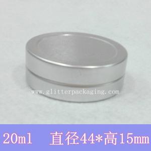 China 20g Metal Box 20ml Aluminum Jar lip gloss Container Tea Tin Cosmetics Packing on sale