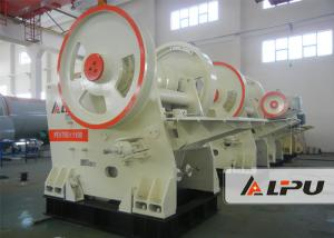 China Primary / Secondary Jaw Crusher Machine For Construction Capacity 140 - 320 T / H on sale