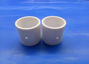 China Custom Zirconia Ceramic Parts Shaft Sleeve Motor Bush Zro2 Mud Pump Liner YSZ Bushing on sale