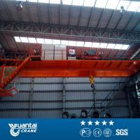 China Yuantai last big discount Engineers service 20 ton double girder overhead crane for sale on sale