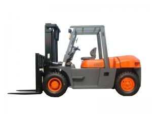 China Wenyang Machinery brand forklift 8ton diesel forklift truck with ISUZU 6BG1 engine made in China on sale
