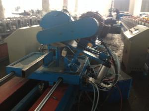 China PLC Control Roll Forming Machinery Rectangle Tube Mill WIth Argon-Arc Welder Flying Saw Cutting on sale