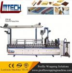 pvc door moulding Profiles wrapping machine with good quality