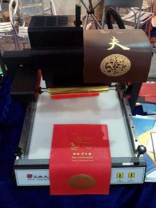China TJ-219 digital Gold foil Vinyl sticker hot stamping printing machine on sale