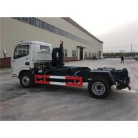 4 Ton-5 Ton Hooklift Arm Waste Removal Trucks Garbage Container Pulling Dongfeng