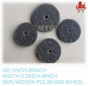 China non woven abrasive polishing wheel on sale