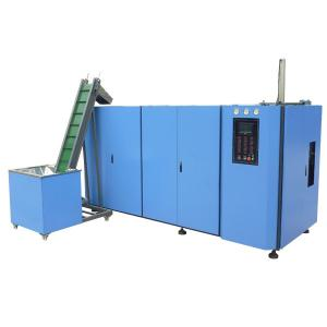 China 6 cavity Fully automatic rotary Blow Molding Machine / machinery for PET Bottle 220V 60hz on sale