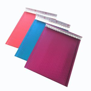China Colored padded mailer/Glamour Bubble Mailers/Color Metallic Bubble milers on sale