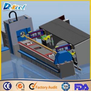 China 1000W Fiber Metal Tube Laser Cutting Machine 8mm Steel Pipe Laser Cutter Factory Sale on sale